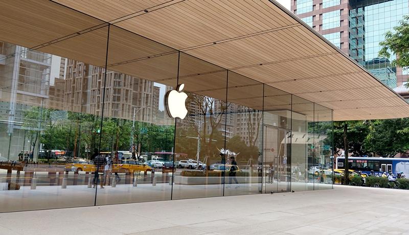 来自苹果独立店面的最新设计!
